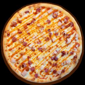 Пицца копченая
