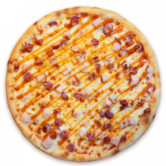 Піца копчена