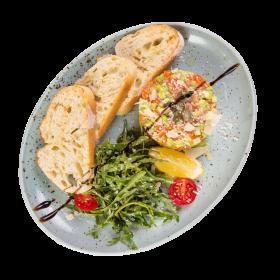 Тартар із норвезького лосося
